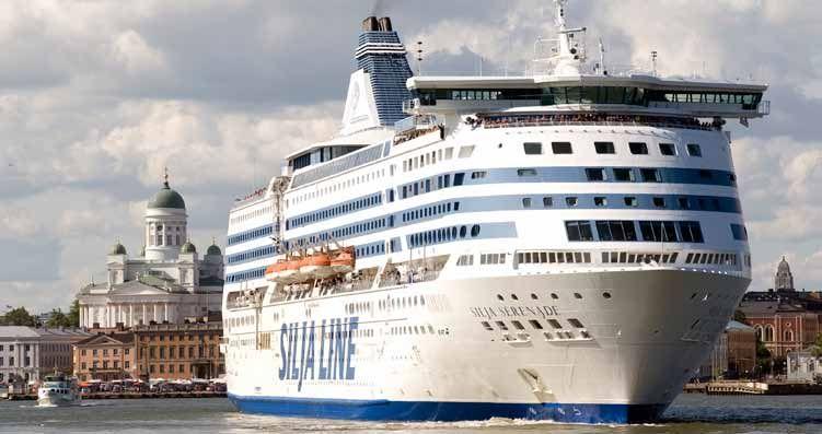 Круизный паром Tallink Silja