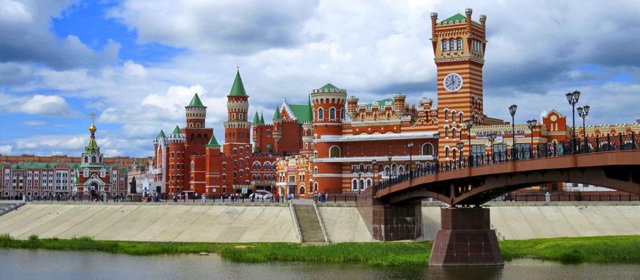 Романтические выходные в Казани